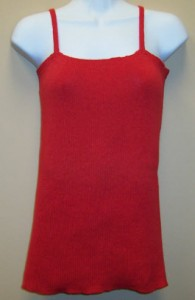 Knitted Cotton Tank Top